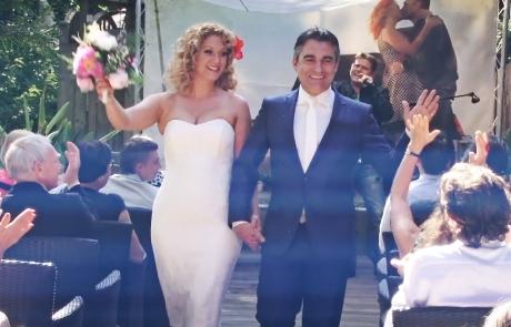 trouwen diana en leo